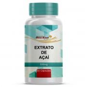 Açaí Extrato - Euterpe Oleracea Mart. 500mg Com 60 Cápsulas Manipuladas