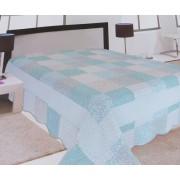 Steppelt pacwork taft ágytakaró lila-szürke-drapp/Cikksz:03120046