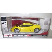 1:24 Yellow Lamborghini Huracan LP 610-4