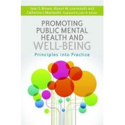 Promoting Public Mental Health and Well-Being by Catherine J. Mackereth