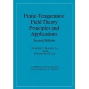 Finite-Temperature Field Theory by Joseph I. Kapusta