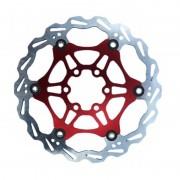 Clarks Lightweight Disc-Rotor Disco freno 6 fori rosso Dischi freno