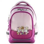 NICI 16373 Children's Backpack, Pink/ Light Violet
