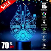 Star Wars Millennium Falcon Lighting Decor Toys Lamp Version 2016