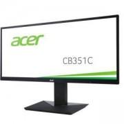 Монитор Acer 35 инча, LED VA, Anti-Glare, HDMI, DVI, DisplayPort, USB 3.0 Hub, 4ms UM.CB1EE.001