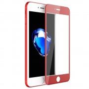 Folie sticla flexibila KISSCASE HD pentru iPhone 6 / 6s, Skin Rosu