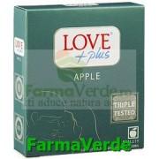 Love Plus Apple Prezervative 3 bucati
