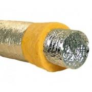 "Tubulatura flexibila izolata 4"" aluminiu"