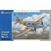 Unbekannt - Modellino Aereo Airspeed Oxford Mk.I / Foreign Service Ii Scala 1:48