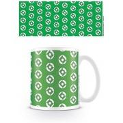 Dc Originals Mug Green Lantern Logo Pattern