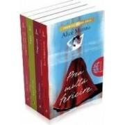 Pachet Alice Munro Prea multa fericire+Draga viata+Fugara+Ura prietenie dragoste casatorie - Alice Munro
