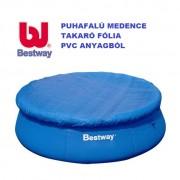 Bestway puhafalú medence takaró fólia 366cm átmérőre 58034