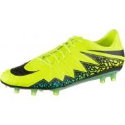 Nike HYPERVENOM PHATAL II FG Fußballschuhe Herren in gelb/schwarz/türkis, Größe: 44