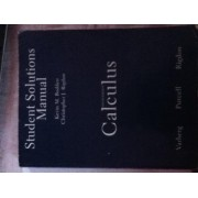 Calculus: Student Solutions Manual by Dale Varberg