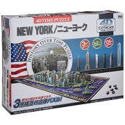 Yanoman 4 D City Scape Time Puzzle New York (700 Piece Puzzle)