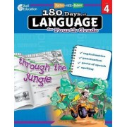 180 Days of Language for Fourth Grade (Grade 4) by Suzanne Barchers