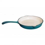 TIGAIE FONTA - 25 CM, EMAIL Material : fonta pura ,Grosime : 3.5 - 5.0 mm, Vasele din fonta sunt sa