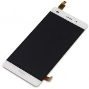 Дисплей + Тъч скрийн за Huawei P8 Lite Бял