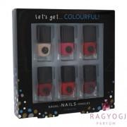 2K - Let´s Get Colourful! Classics Nail Polish (5ml) Szett - Körömlakk