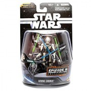 Episode 3 General Grievous 4 Armed Action Figure with Lightsabers