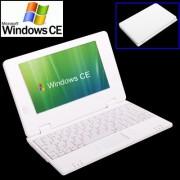 7.0 inch Windows CE Notebook PC EPC 701 CPU: VIA WM8850 A9 1.5GHz(White)