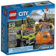 Конструктор Лего Сити - Стартов комплект Вулкан, LEGO City, 60120