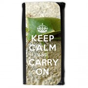 Cartera unisex // Q01008277 keep calm and carry on 340 // Large Size Wallet