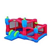 "Blast Zone UK-SIDEKICK ""Sidekick Castle"" Inflatable Bounce House Ball Pit"