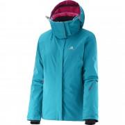 Geaca ski Salomon Brilliant-Bleu