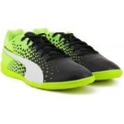 Puma evoSPEED Sala Graphic Football Shoes(Black)
