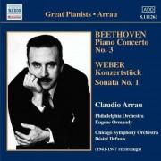 Beethoven/ Weber - Piano Concerto No.3/ Konze (0747313326327) (1 CD)