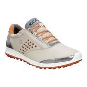 Pantofi golf dama ECCO Biom Hybrid 2 (Oyster / Orange)