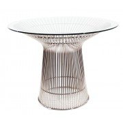 Replica Warren Platner - Wire Dining Table - stainless steel frame - 100cm or 120cm