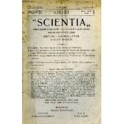 Scientia, Year Xv, Vol. Xxix, N° Cx-6, Serie Ii, 1921, Rivista Internazionale Di Sintesi Scientifica, Revue Internationale De Synthese Scientifique, International Review Of Scientific ...