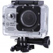 """Cámara Deportes SJ7000 1080P 2.0"""" WiFi 170°Sports Camera EU PLUG-Plateado"""