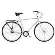 Electra Loft 7i Bicicletta da città Uomini argento Large / 55cm City bike