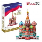 3D Puzzle paper Model DIY toy birthday gift St.Basil's Cathedral MC093H 1pc by Toys&Game