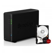 SYNOLOGY DISKSTATION DS116 NAS SYSTEM 1-BAY 8TB INKL. 1X 8TB WD RED WD80EFZX
