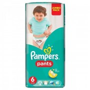 Scutece Active Baby Pants 6 Jumbo Pack, 44 buc, Pampers