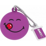 USB Flash Drive Emtec Smiley World Yum Yum USB 2.0 8GB Violet