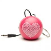 Boxa portabila KitSound MyDoodles Trendz Mini Buddy Heart