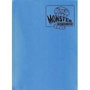 Monster Binder - 9 Pocket Trading Card Album - Matte Sky Blue (Anti-theft Pockets Hold 360+ Yugioh Pokemon Magic the Gathering Cards)