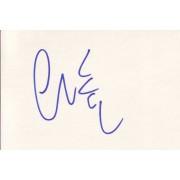 Charles Fleischer Autographed Index Card