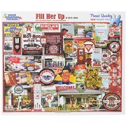 "White Mountain Puzzles - Puzzle Fill Her Up 24""X30"", 1000 Pezzi"