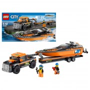 Lego - Lego City 4x4 with Powerboat (60085)