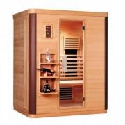 Cabina sauna Sanotechnik Diamant 3 D50570, 2 persoane