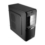 Gabinete Aerocool V3X Advance Devil Red Edition con Ventana LED Rojo, Midi-Tower, ATX/Micro-ATX/Mini-ITX, sin Fuente, Negro