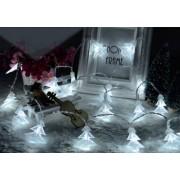 LED Karácsonyfa karácsonyi dekor füzér hideg fehér
