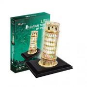 "CubicFun 3D Puzzle LED-Series ""Leaning Tower of Pisa - Pisa"""