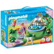 Playmobil 626561 - Superset Jardín Con Hadas